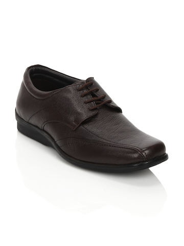 Fortune Men Brown Formal Shoes