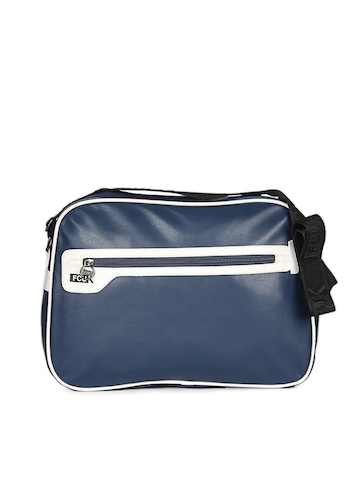 French Connection Unisex Blue Bag