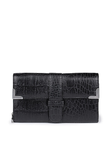 French Connection Women Black Wallet