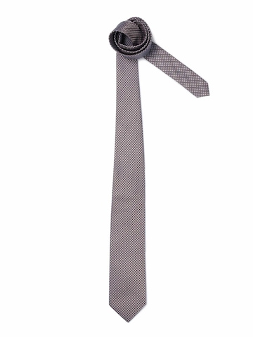 United Colors of Benetton Men Check Grey Tie