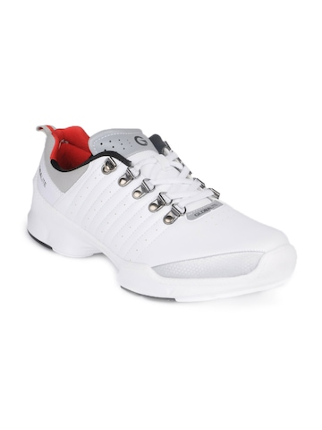 Globalite Men White Eclipse Shoes