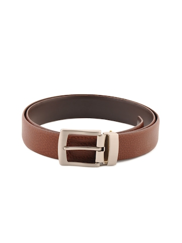 Turtle Men Leather Brown Belts