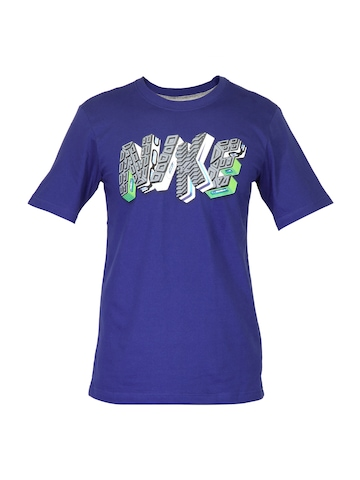 Nike Men Air Bags Blue T-shirt