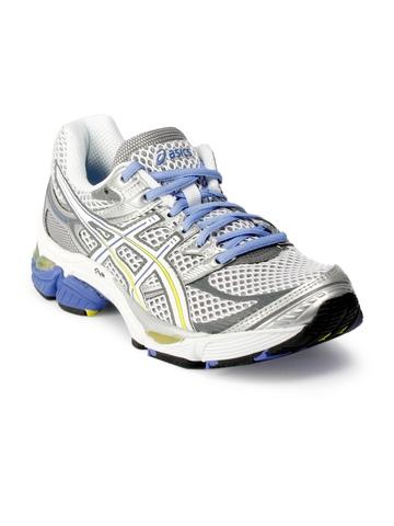 ASICS Women Gel Cumulus Running White Sports Shoes