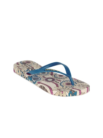 iPanema Women Blue Flip Flops