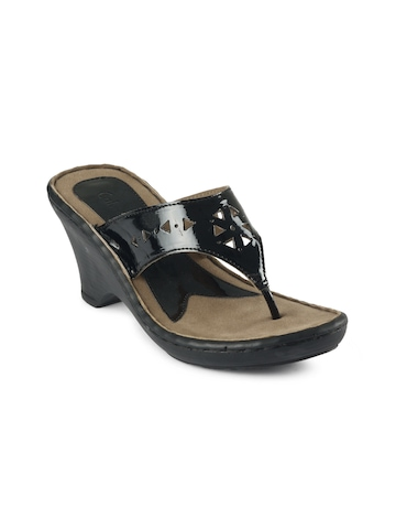 Catwalk Women Casual Black Sandal