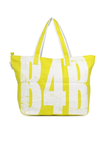Be For Bag Women  Lime Green Tote Bag