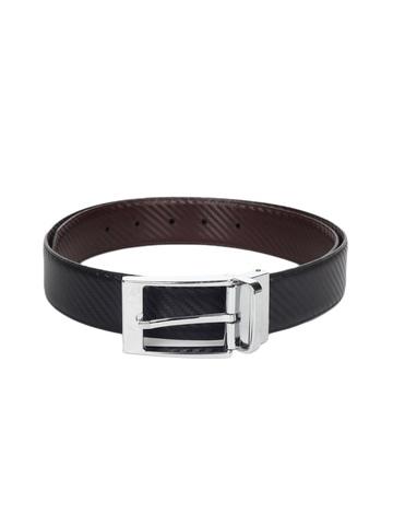 United Colors of Benetton Men Leather Black Belt