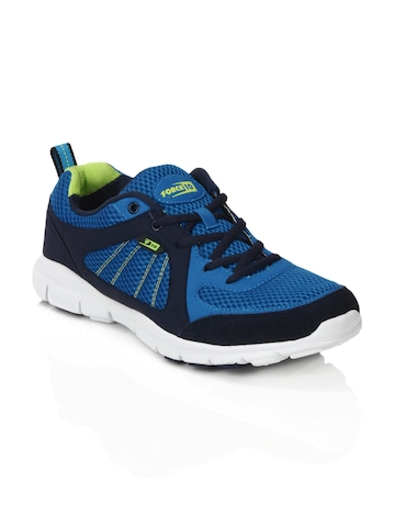 Force 10 Men Blue Sports Shoes