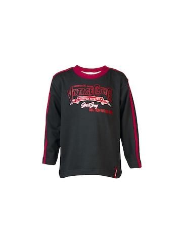 Gini and Jony Kids Boys Printed Black Sweatshirts