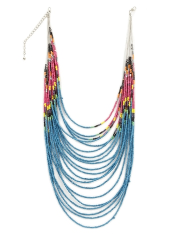 Adrika Women Blue Necklace