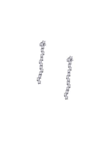 Lucera Women Silver Earrings