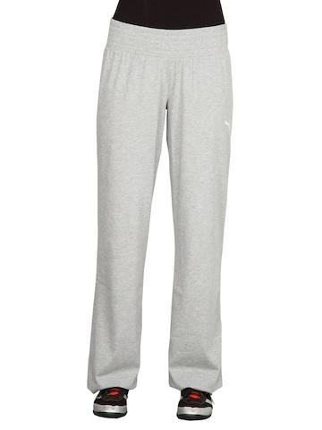 Puma Women's Jersey Grey Track Pant