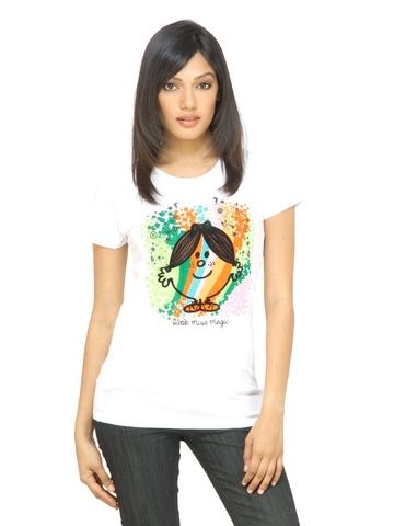 Little Miss Women Magic White T-shirt
