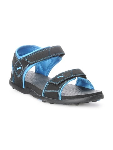 Puma Unisex Black Sandals