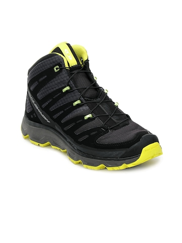 Salomon Men Black Synapse Mid Sports Shoes