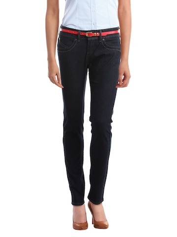 Denizen Women Navy Blue Jeans