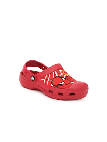 Marvel Boys Red Sandals