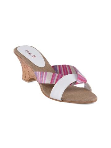 Inc. 5 Women Casual White Heels
