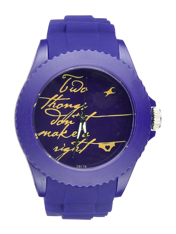 Fastrack Women Blue Dial Watch 9911PP03