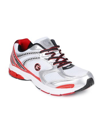 Globalite Men White Torque Sports Shoes