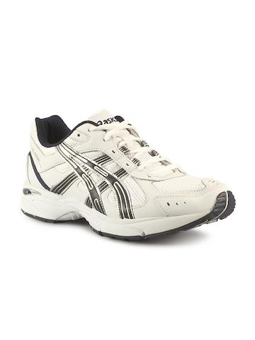Asics Men's Gel Cushioning White Navy Shoe