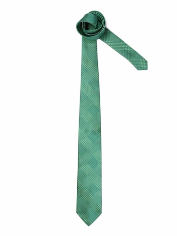 United Colors of Benetton Men Check Green Tie