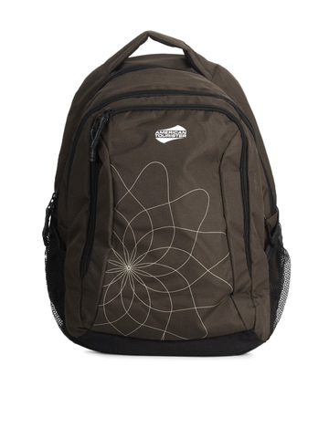 American Tourister Unisex Brown Backpack