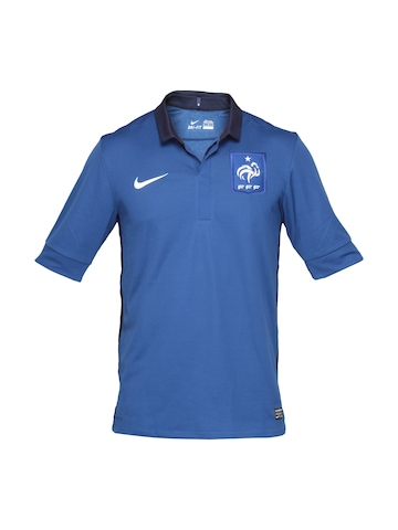 Nike Men French Football Federation Blue Jersey