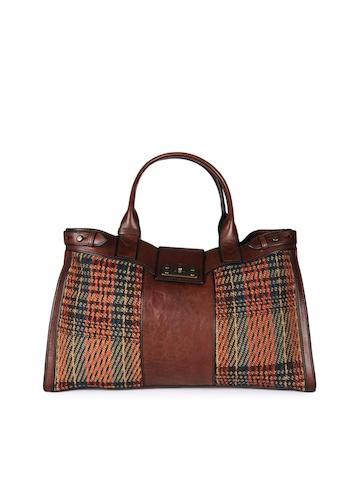 Fossil Women Brown Handbag