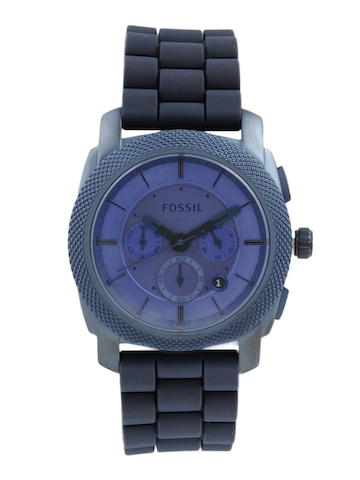 Fossil Men Blue Dial Chronograph Watch FS4703