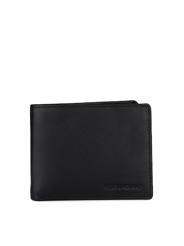 Peter England Men Black Wallet