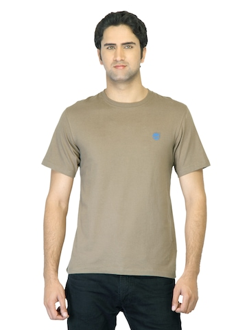 Timberland Men Brown Back Logo T-Shirt