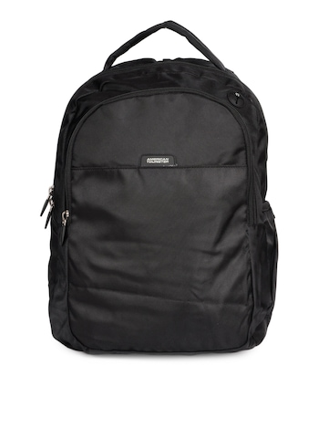 American Tourister Unisex Black Backpack
