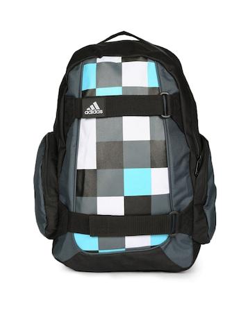 Adidas Unisex Black Skate Check Backpack