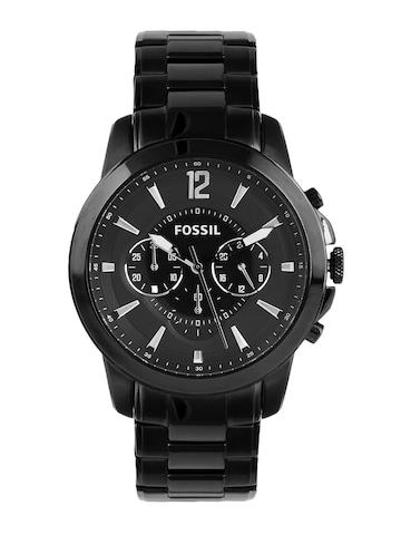 Fossil Men Black Dial Chronograph Watch FS4723