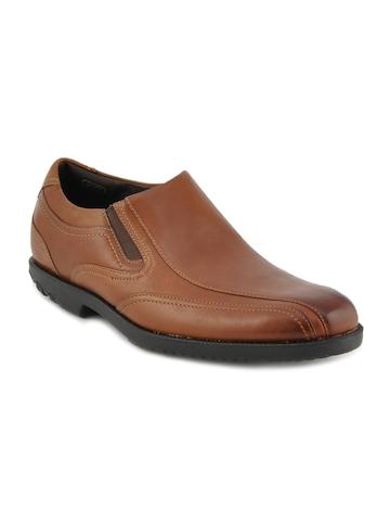 Rockport Men Drsp SLip On Brown Formal Shoes