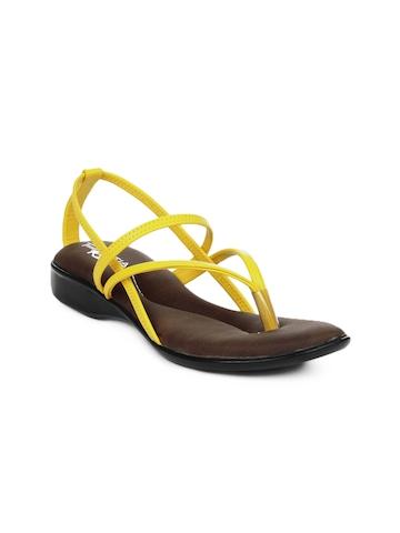 Portia Women Yellow Flats