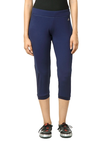 Adidas Women Navy Blue Tights