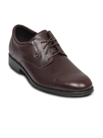 Rockport Men's Trinchero Drak Brown Shoe