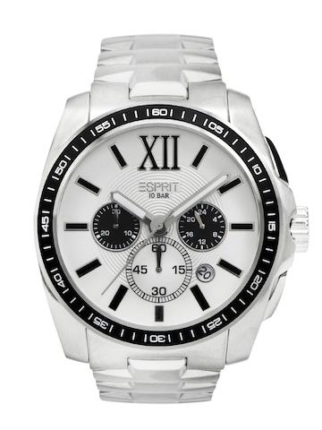 Esprit Men White Dial Watch