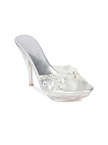 Catwalk Women Silver Heels