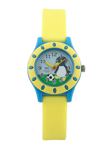 Q&Q Kids Unisex Blue Dial Analog Watch