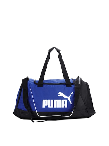 Puma Unisex Blue Duffle Bag