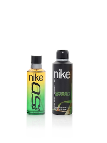 Nike Fragrances Men Green Storm Perfume and Deo Set