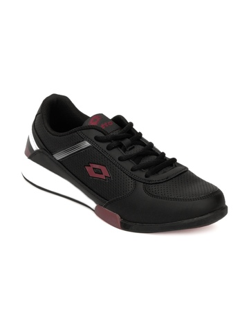 Lotto Men Black Shoes