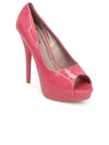Carlton London Women Pink Peep Toes