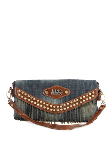 Lino Perros Women Blue Sling Bag
