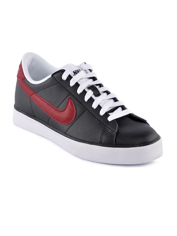 Nike Men Sweet Classic Leather Black Shoes