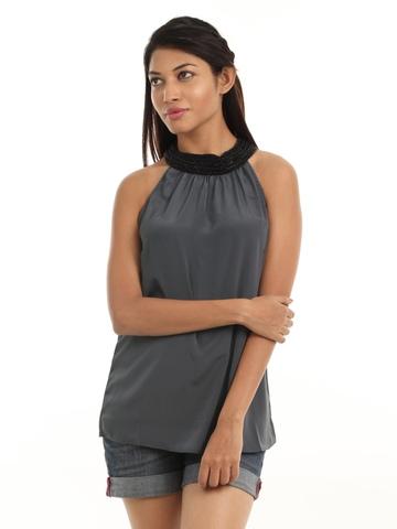 Vero Moda Women Grey Top